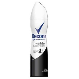 REXONA ΑΠΟΣΜΗΤΙΚΟ SPRAY INVISIBLE BLACK & WHITE 150ml
