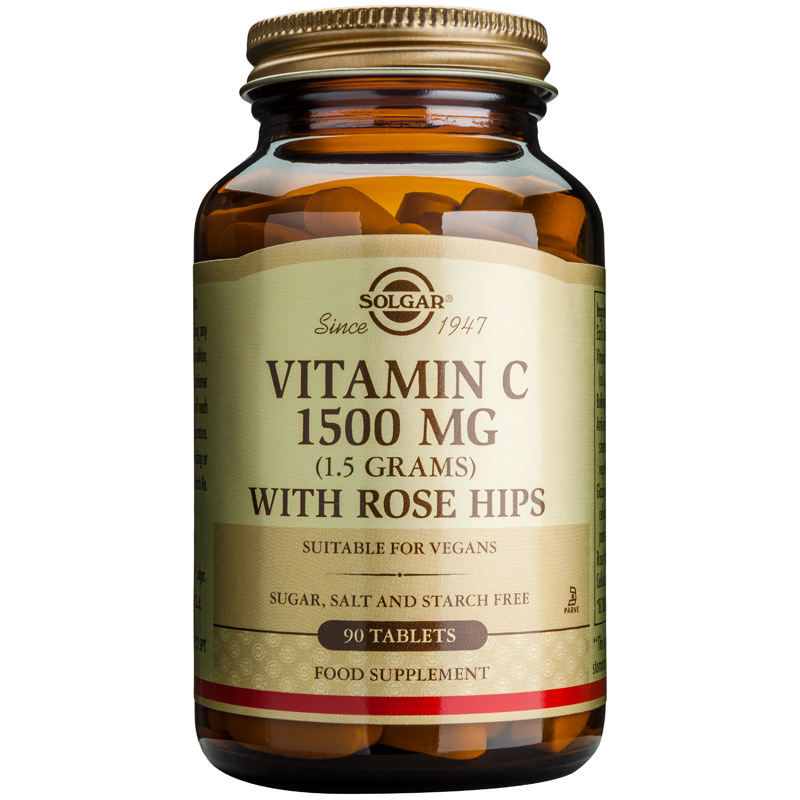 Vitamin C with Rose Hips 1500mg tablets