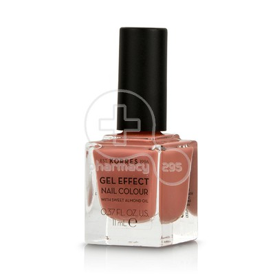 KORRES - GEL EFFECT Nail Colour No40 Winter Nude - 11ml