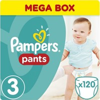 Pampers Pants Mega Pack No 3 Midi (6-11kg) 120τεμ.