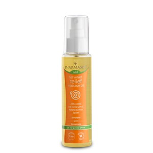 Tol velvet relief massage oil 100ml