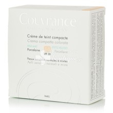 Avene Compact Mat PORCELAINE (1.0) SPF30 - Make up (oil-free) Κανονική Μικτή Επιδερμίδα, 10gr