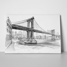 Pencil manhattan bridge 168598595 a