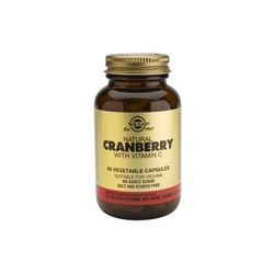 Solgar Cranberry Extract With Vitamin C veg.caps