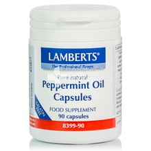 Lamberts PEPPERMINT OIL (Μέντα) 50mg - Πέψη, 90caps