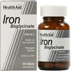 Health aid iron 90 tabs