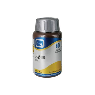 Quest Vitamins - L-Lysine 500mg - 60tabs