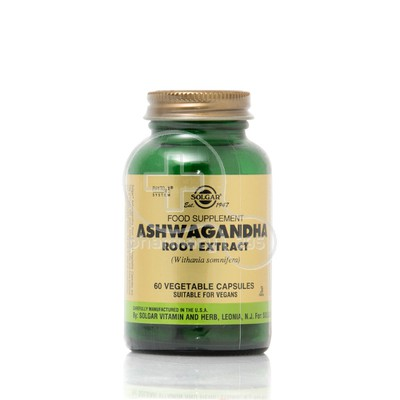SOLGAR - Ashwagandha Root Extract 300mg - 60caps