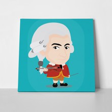 Wolfgang amadeus mozart cartoon 445449865 a
