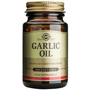 Solgar garlic oil