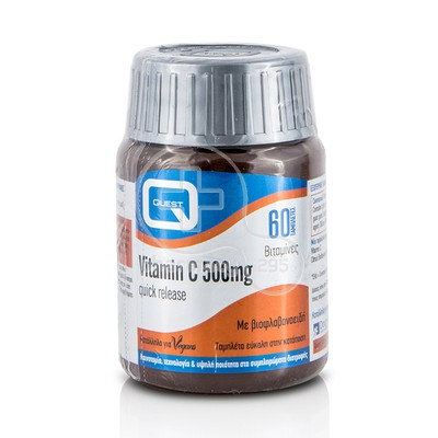 QUEST - Vitamin C 500mg Quick Release - 60tabs