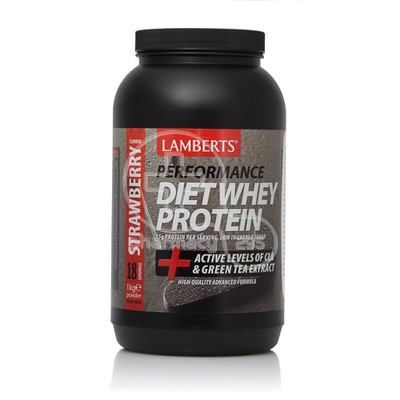 LAMBERTS - DIET Whey Protein Strawberry Flavour - 1Kgr