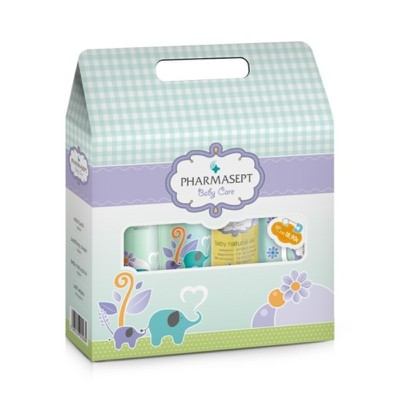 Pharmasept - Total Baby Care BOX Tol Veltet Mild Bath 300ml + Tol Veltet Soothing Cream 150ml + Tol Velvet Bab