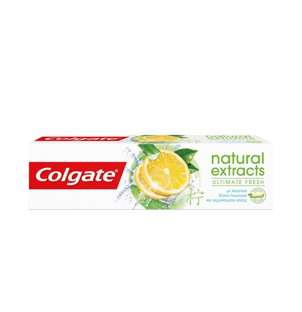 COLGATE ΟΔ/ΚΡΕΜΑ NATURAL EXTRACTS FRESH LEMON 75ML