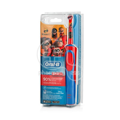 ORAL-B - STAGES POWER Ηλεκτρική Οδοντόβουρτσα The Incredibles II 3+