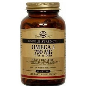Ssolgar omega 3 double strength 60tabs