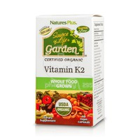 NATURE'S PLUS - SOURCE OF LIFE GARDEN Vitamin K2 - 60caps