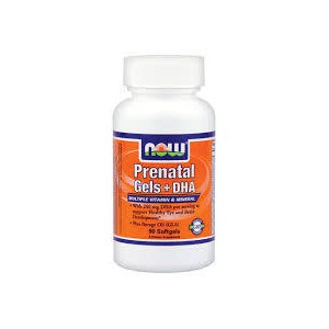 Now foods prenatal gels   dha  90 softgels