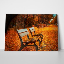 Leaves bench front