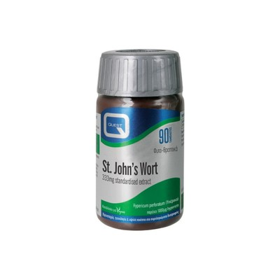 Quest Vitamins - St. John?s Wort 333mg Extract. - 90tabs