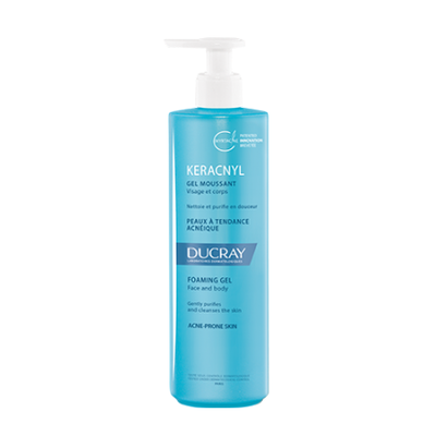 Ducray Pr Keracnyl Gel Mouss 400ml -20%
