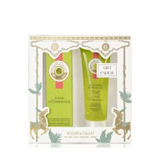 Roger & Gallet CHRISTMAS SET Fleur D' Osmanthus Fragrant Wellbeing Water Άρωμα 30ml & ΔΩΡΟ Uplifting Shower Gel 50ml.