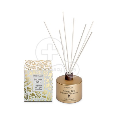 L'ERBOLARIO - BOUQUET D'ORO Fragrance for Scented Wood Sticks - 200ml