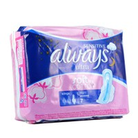 ALWAYS SENSITIVE ULTRA NIGHT SOFT LIKE COTTON  7TMX