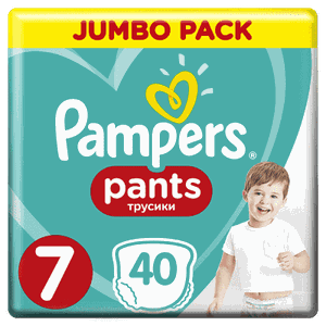 Pampers no7 40s