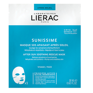 LIERAC Sunissime after sun soothing rescue face ma