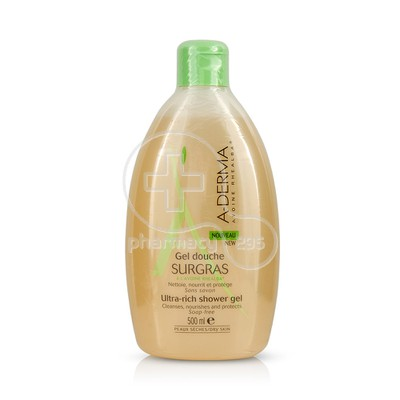 A-DERMA - Gel Douche Surgras - 500ml