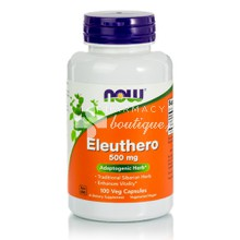 Now Eleuthero 500mg - Άγχος, 100 veg caps