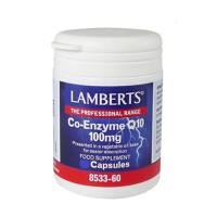 LAMBERTS CO-ENZYME Q10 100MG 30CAPS