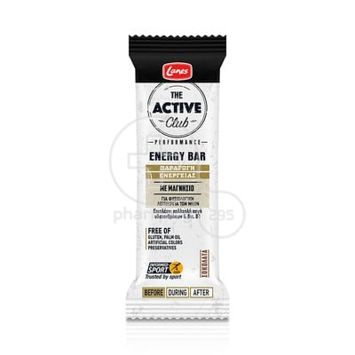 LANES - THE ACTIVE CLUB Energy Bar - 40gr