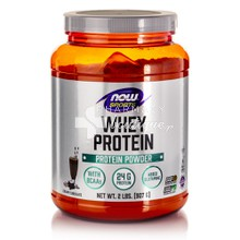 Now Sports Whey Protein (Dutch Chocolate), 2lb (907g)