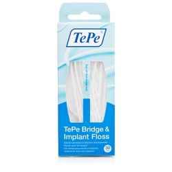 Tepe Bridge & Implant Floss 30pieces
