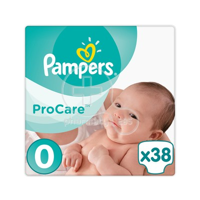 PAMPERS - PROCARE Premium Protection No0 (1-2,5kg) - 38 πάνες