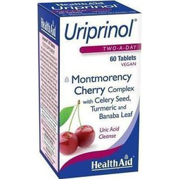 HEALTH AID  URIPRINOL  MONTMORENCY CHERRY 60 TABS