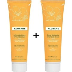 Klorane Hair Removal Cream, 2x150ml