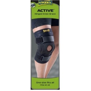 Uriel active hinged knee brace ac 43d