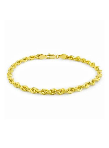 MILLIONALS ROPE STAINLESS STEEL BRACELET GOLD