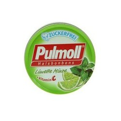 Pulmoll Pastilles with lime + Vitamin C