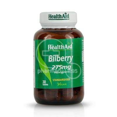 HEALTH AID - Bilberry 275mg - 30caps