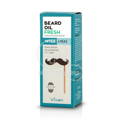 VICAN - WISE MEN Beard Oil Fresh - 30ml