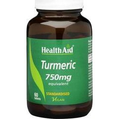 Health Aid Turmeric 750mg 60 ταμπλέτες