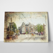 Streets amsterdam made artistic style 72992962 a