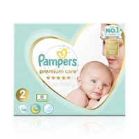 PAMPERS - PREMIUM CARE New Baby No2 (4-8kg) - 148 πάνες