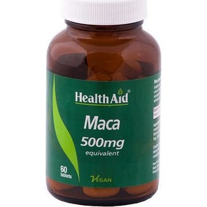 Health aid maca 500mg 60caps