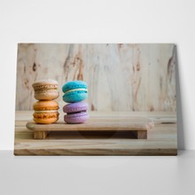 Macarons on table 246311179 a