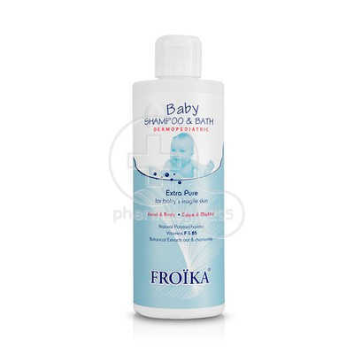 FROIKA - DERMOPEDIATRIC Baby Shampoo & Bath - 400ml